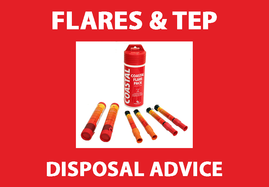 Flare disposal